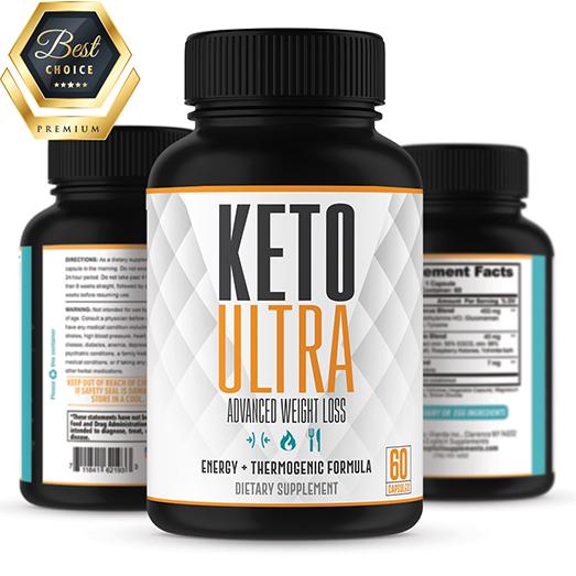 active ingredients in keto ultra diet pills
