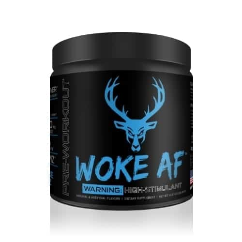 Woke AF - High Stimulant - Blue Raz - 30 Servings - DAS Labs-0