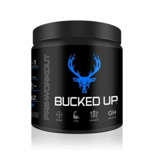 Bucked Up Pre Workout - Blue Raz - 30 Servings - DAS Labs-0