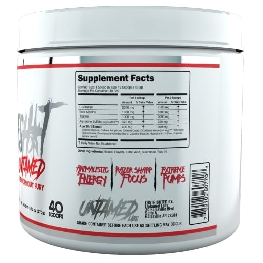 Primeval Labs Ape Sh*t Untamed - Pre-Workout - Fruit Punch - 20/40 Servings-222