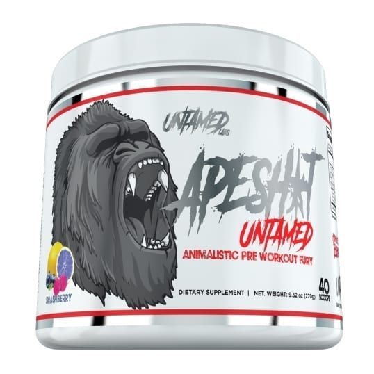 Primeval Labs Ape Sh*t Untamed - Pre-Workout - Smashberry - 20/40 Servings-0