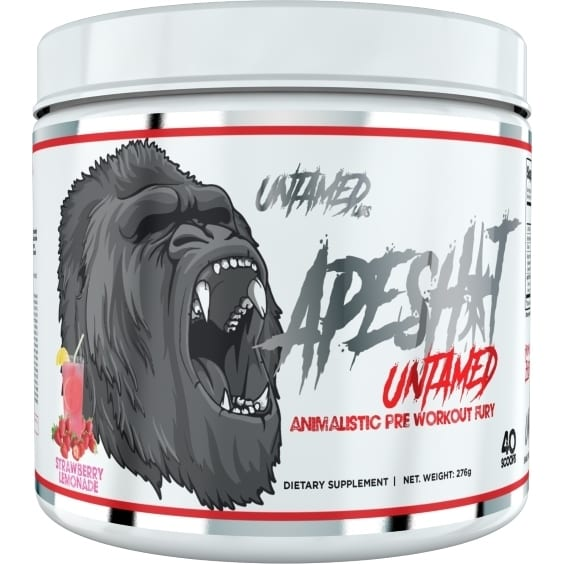 Primeval Labs Ape Sh*t Untamed - Pre-Workout - Strawberry Lemonade - 20/40 Servings-0