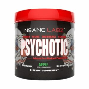 Psychotic Pre Workout by Insane Labz - Apple - 35 Servings-0