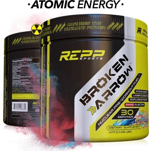 Repp Sports Broken Arrow - Elite Pre-Workout - Sour Gummy ‑ 30 Servings-0