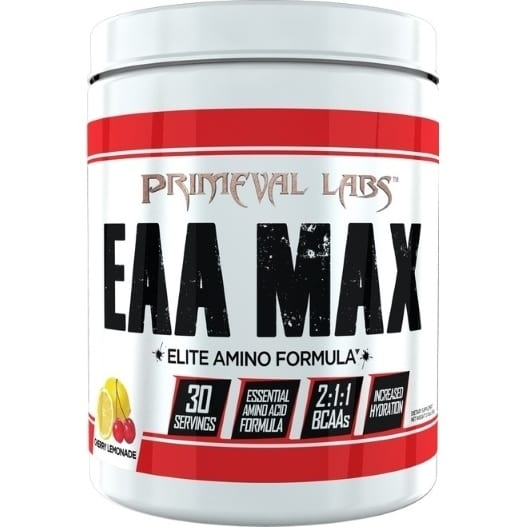 Primeval Labs EAA Max - Elite Amino - Cherry Lemonade - 30 Servings-0
