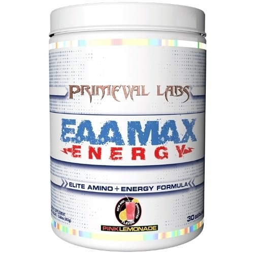 Primeval Labs EAA Max Energy - Elite Amino & Energy - Pink Lemonade - 30 Servings-0