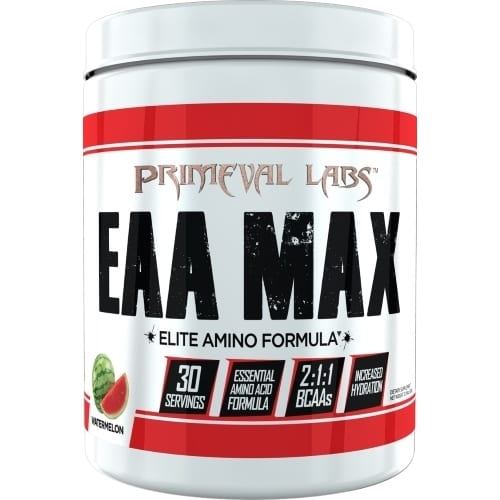 Primeval Labs EAA Max - Elite Amino - Watermelon - 30 Servings-0