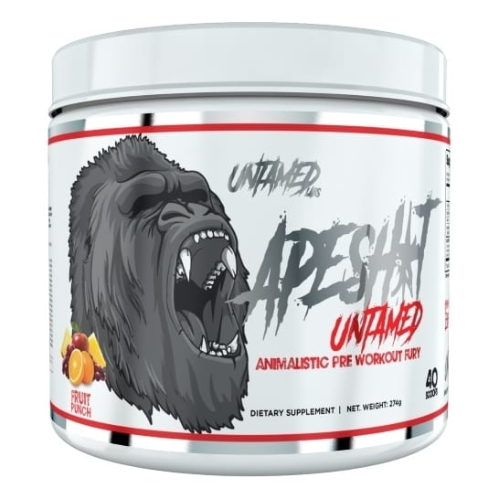 Primeval Labs Ape Sh*t Untamed - Pre-Workout - Fruit Punch - 20/40 Servings-0