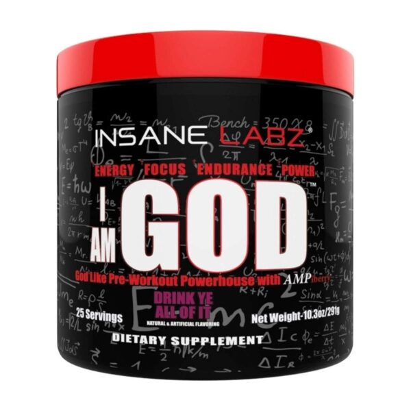 I Am God - Drink Ye All Of It - 25 Servings - Insane Labz-0
