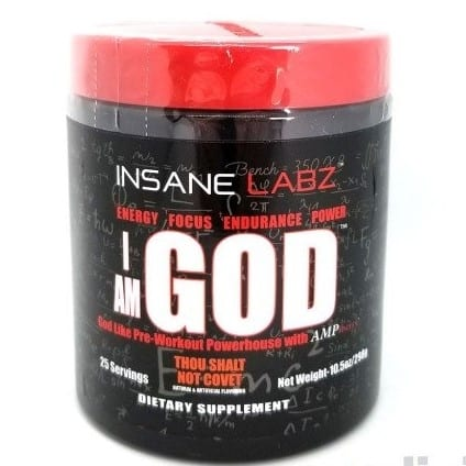 I Am God - Thou Shalt Not Covet - 25 Servings - Insane Labz-0