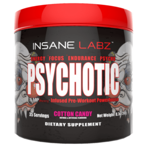 Psychotic Pre Workout by Insane Labz - Cotton Candy - 35 Servings-0
