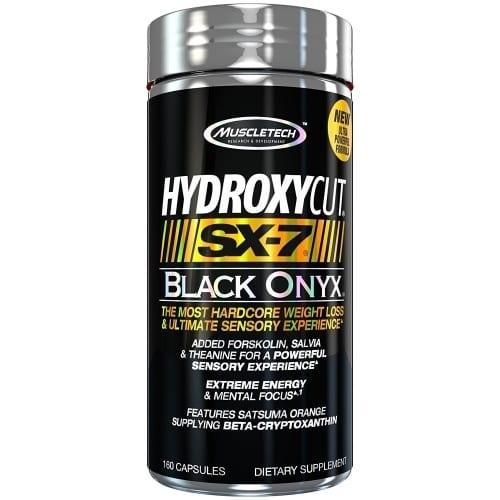 Hydroxycut SX 7 Black Onyx - 160 Count-0