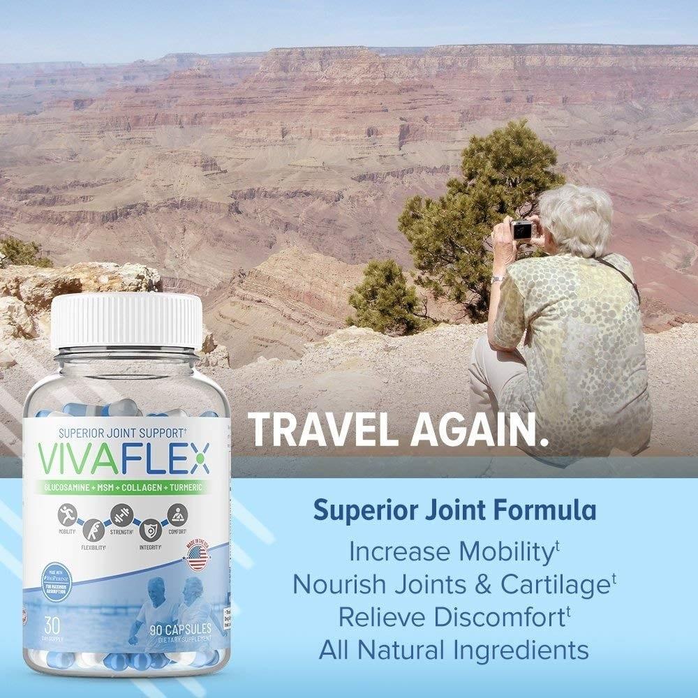 VivaFlex Superior Joint Support – 90 Capsules - TerraForm Nutrition-134