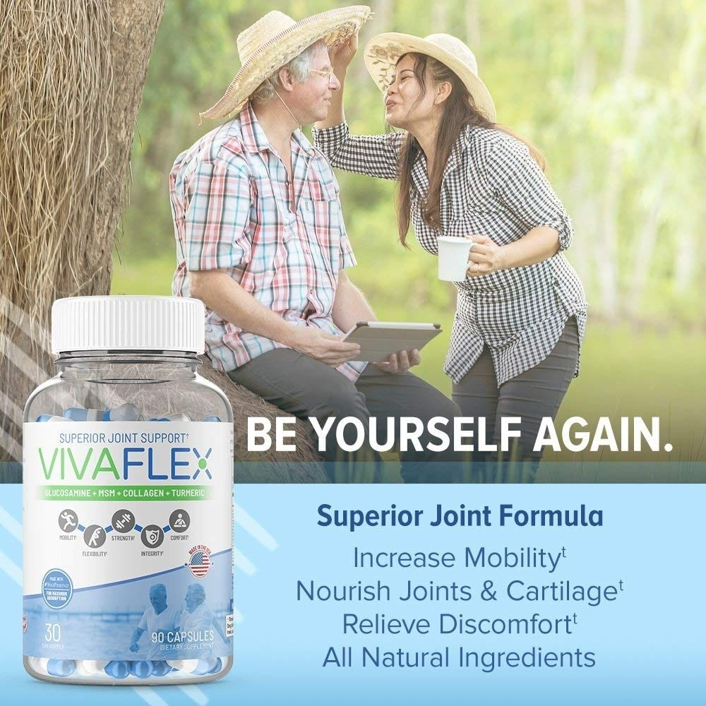 VivaFlex Superior Joint Support – 90 Capsules - TerraForm Nutrition-135
