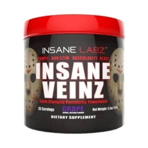 Insane Veinz - Grape - 35 Servings - Insane Labz-0