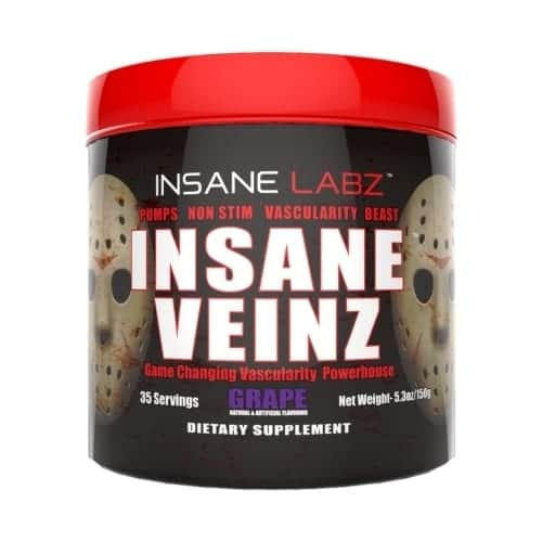 Insane Veinz - Grape - 35 Servings - Insane Labz-0