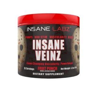 Insane Veinz - Fruit Punch - 35 Servings - Insane Labz-0