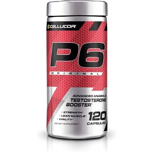 Cellucor P6 Red Original G5 - 120 Capsules-0