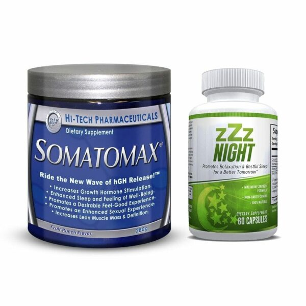 Somatomax Fruit Punch & ZZZ Night Combo-0