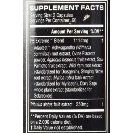 Cellucor P6 Red Extreme - 120 Capsules-118