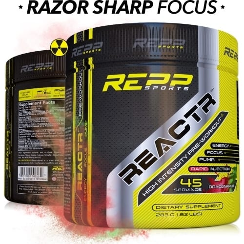 Repp Sports Reactr - Dragon Fruit - 45 Servings-0