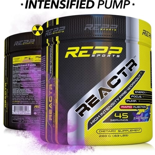 Repp Sports Reactr - Zap Berry - 45 Servings-0