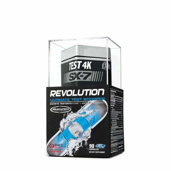 MuscleTech Test 4K SX-7 Revolution - 90 Capsules-0