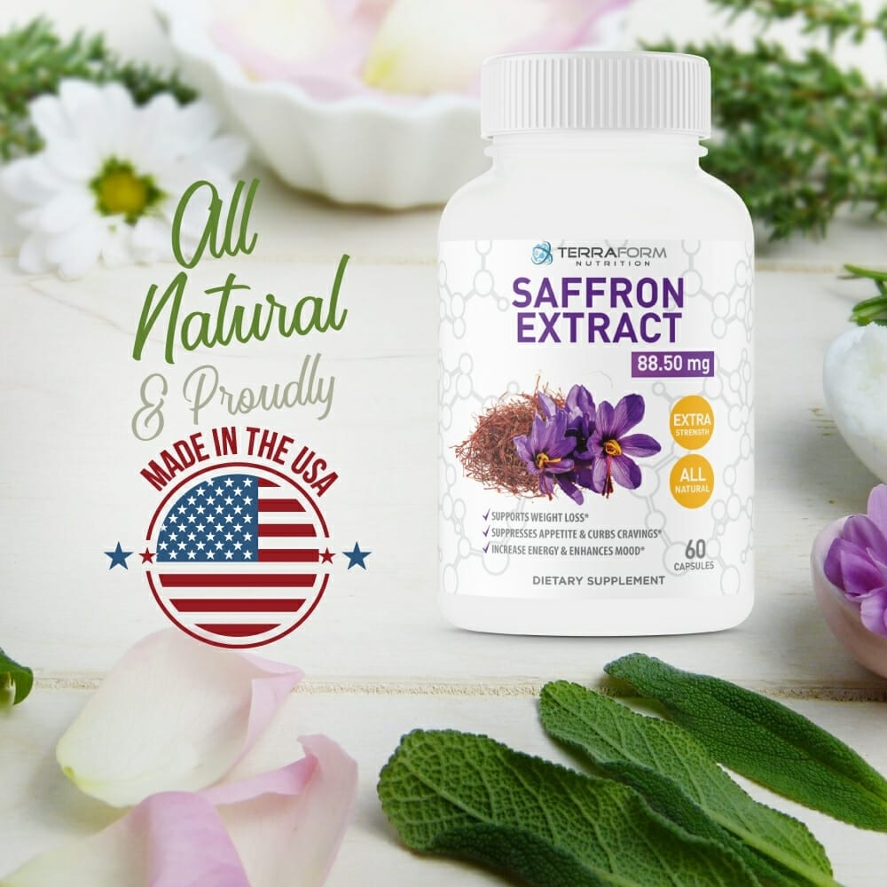 Pure Saffron Extract 88 5mg 60 Capsules Selectsupps Com