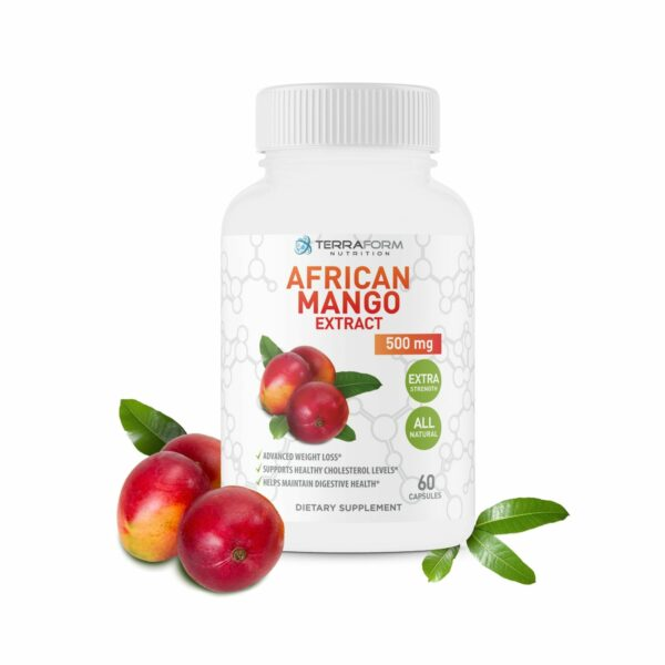 Pure African Mango Extract – 500mg – 60 Capsules-0
