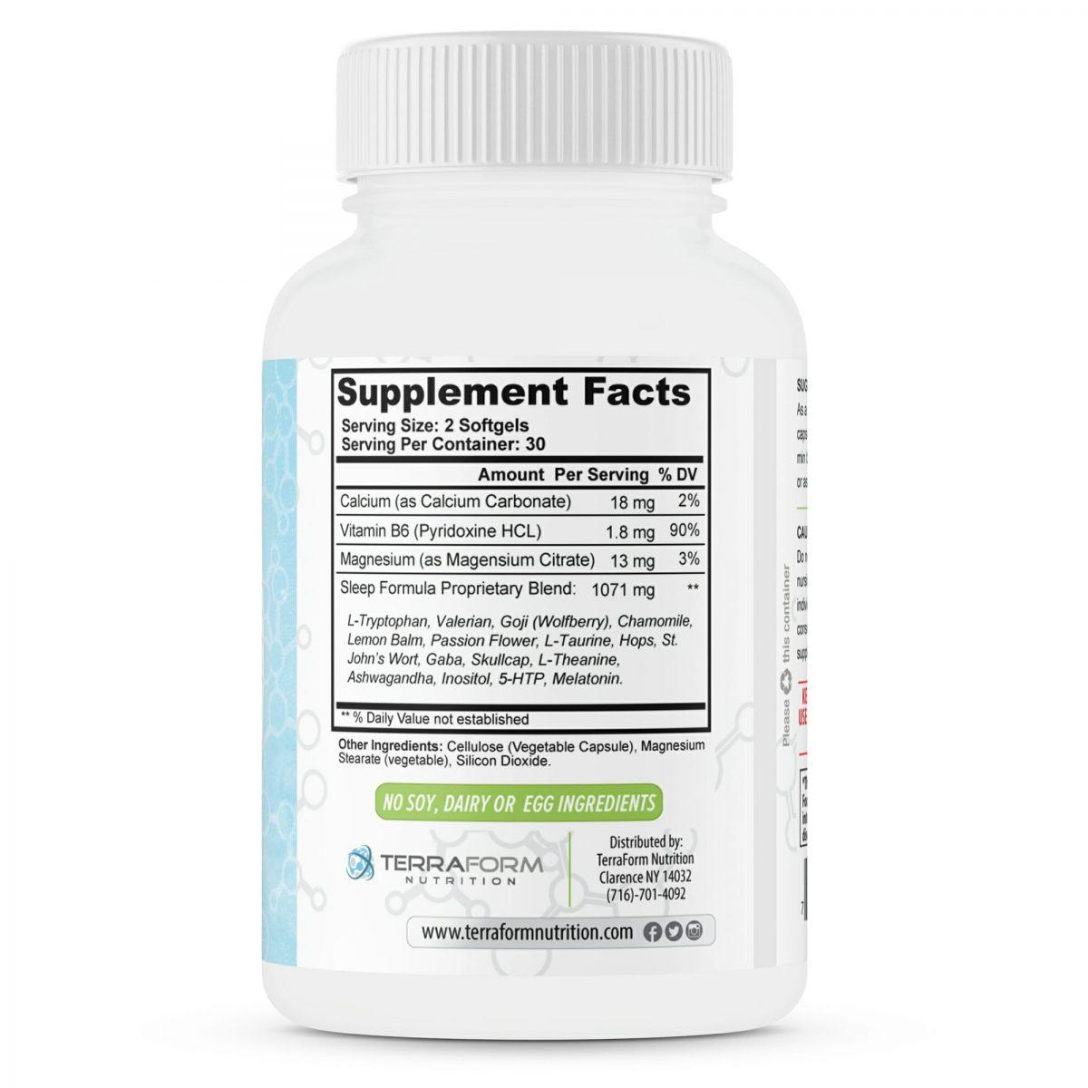 Cryosleep – Natural Sleep Aid – 60 Capsules-504