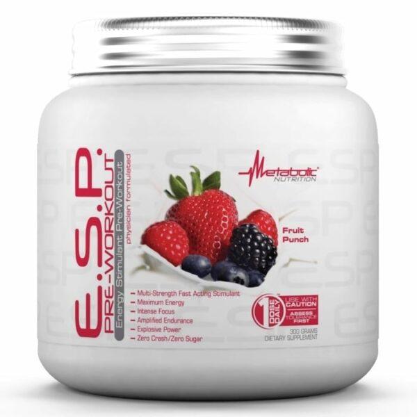 Metabolic Nutrition ESP Fruit Punch - 90 Servings-0