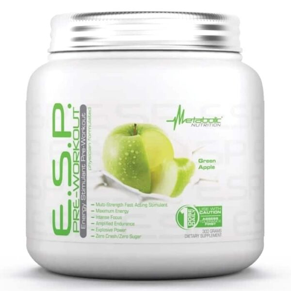 Metabolic Nutrition ESP Green Apple - 90 Servings-0