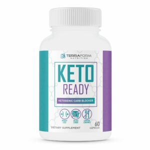 Keto Ready – Max Strength Keto Carb Blocker 1200mg – 60 Capsules-516