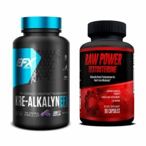 Kre-Alkalyn (240 Capsules) & Raw Power (90 Capsules) - Superior Muscle Building Stack-0