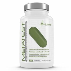 Metabolic Nutrition Metatest - 240 Capsules-0
