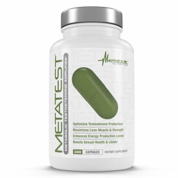 Metabolic Nutrition Metatest - 240 Capsules-0