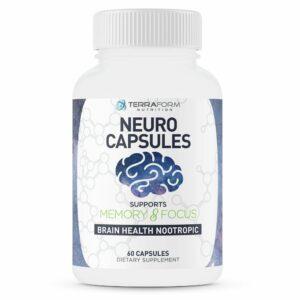 Neuro Capsules Nootropics – 60 Capsules-0
