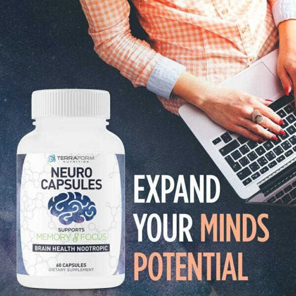 Neuro Capsules Nootropics – 60 Capsules-537