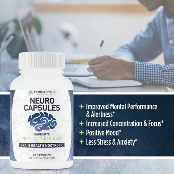 Neuro Capsules Nootropics – 60 Capsules-535
