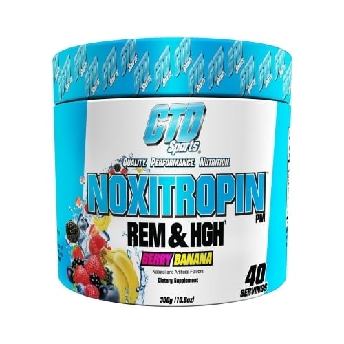 Noxitropin PM by CTD Sports - Berry Banana - 40 Servings-0