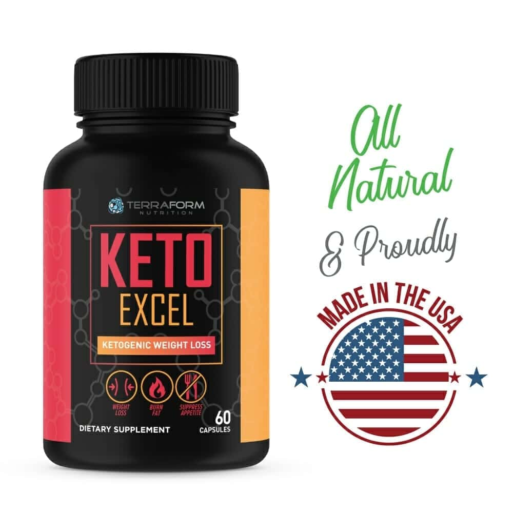 Keto Excel – Maximize The Keto Diet – 60 Capsules-514