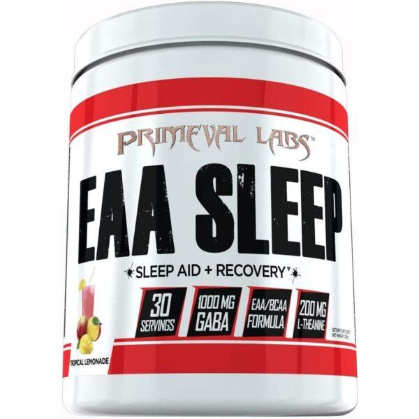 Primeval Labs EAA Sleep - Sleep Aid - Recovery - Tropical Lemonade - 30 Servings-0