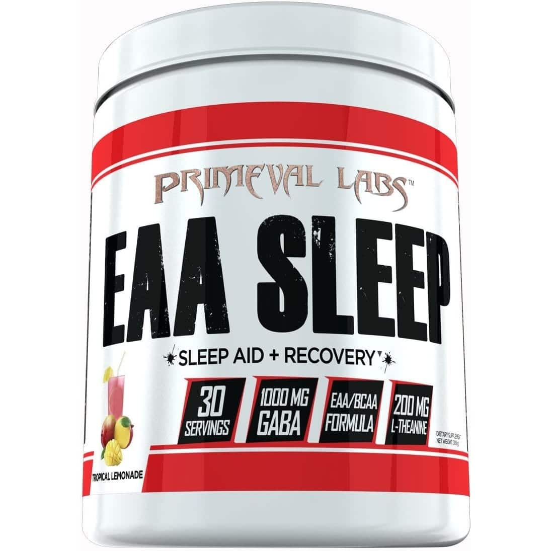 Primeval Labs EAA Sleep - Sleep Aid - Recovery - Tropical Lemonade - 30 Servings-0