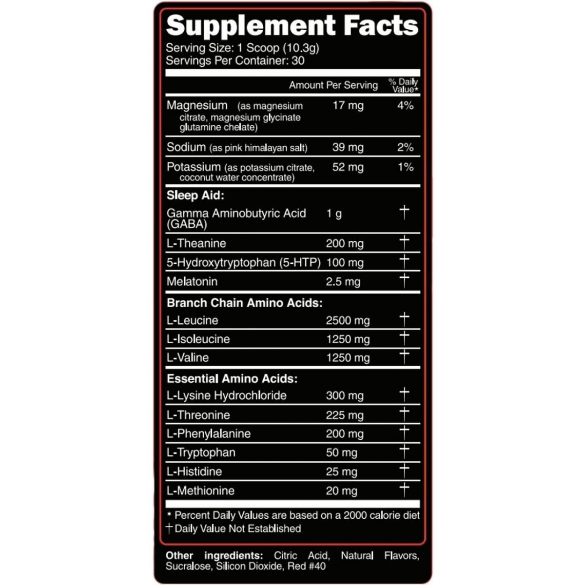 Primeval Labs EAA Sleep - Sleep Aid - Recovery - Tropical Lemonade - 30 Servings-560