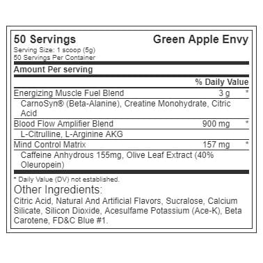 The Curse - Green Apple Envy - Cobra Labs - 50 Servings-620