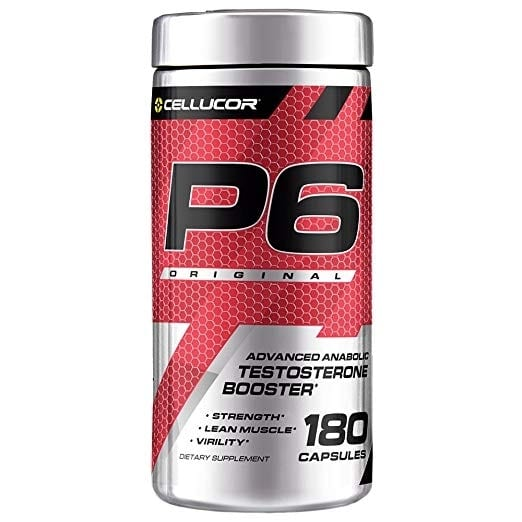 Cellucor P6 Red Original G5 - 180 Capsules-0
