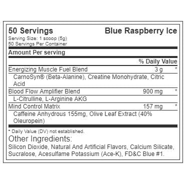 The Curse - Blue Raspberry Ice - Cobra Labs - 50 Servings-616