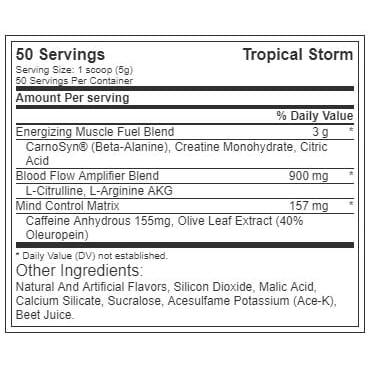 The Curse - Tropical Storm - Cobra Labs - 50 Servings-634