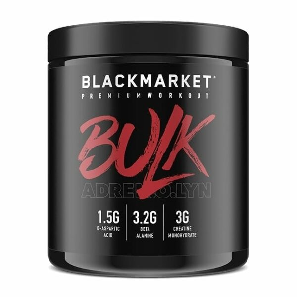 Bulk - Pre Workout - Blue Razz - 30 Servings By Blackmarket Labs-0