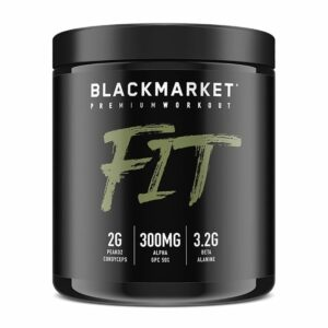 Fit - Pre Workout - Juice Box - 30 Servings By Blackmarket Labs-0